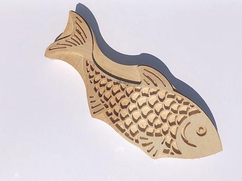 Pullu Balık Baskı Kalıbı No:470