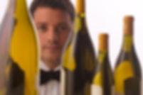 Marco Reitano nella Cantina de La Pergola