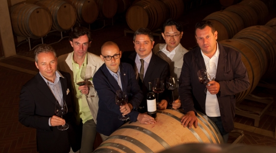 Great Sommeliers visit Tuscany