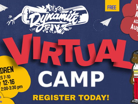 Get ready for DYNAMITE virtual camp 2021!