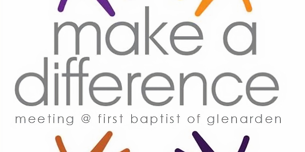 Make a Difference Mtg at FBCG