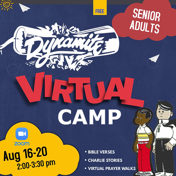Senior Adults DYNAMITE Virtual Camp 2021