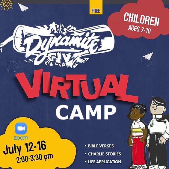 Children's DYNAMITE Virtual Camp 2021
