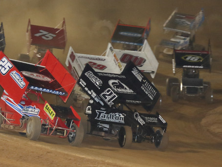 King of the West 410 Sprint Car Series invades Placerville Speedway Saturday September 24th