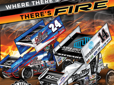 David and Rico Abreu set to host the Calistoga Speedway Boys and Girls Club Dirt Classic on Saturday