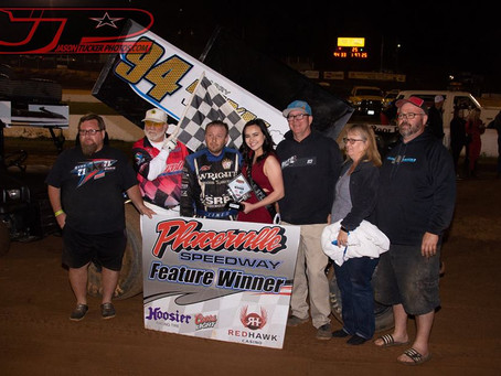 Steven Tiner claims Tribute to Al Hinds at Placerville Speedway
