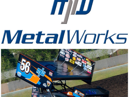 Metal Works to Sponsor Fastest Lap Award with the Sprint Car Challenge Tour