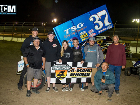 Mitchell Faccinto Brings Home Stockton Victory