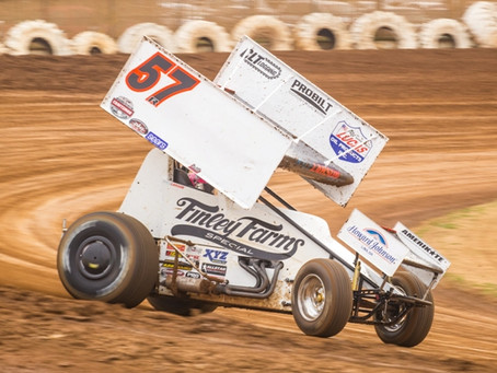 Kyle Larson claims SCCT Round two at Placerville Speedway