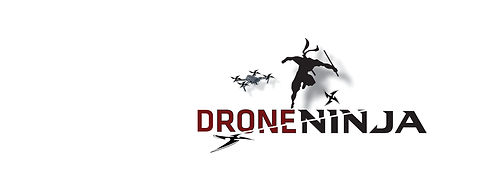 Drone Ninja logo sliced w-Mavic Pro soci