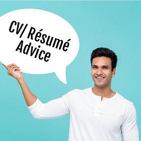 CV/Resume Advice