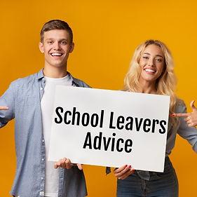 School leavers advice