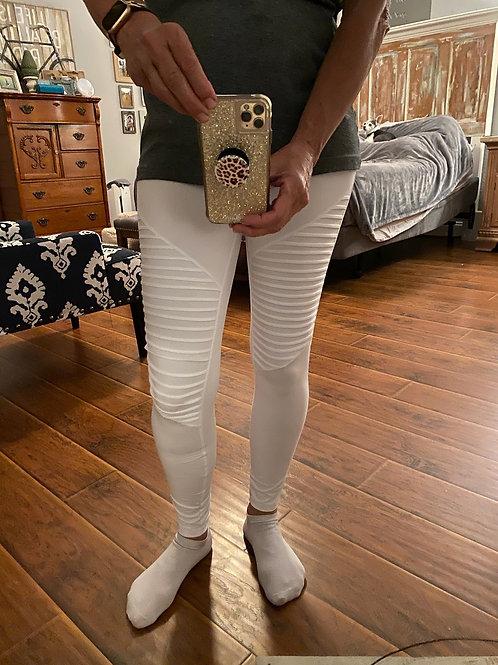 Butter moto leggings with elastic waist band, Hi waist band, Yoga pant