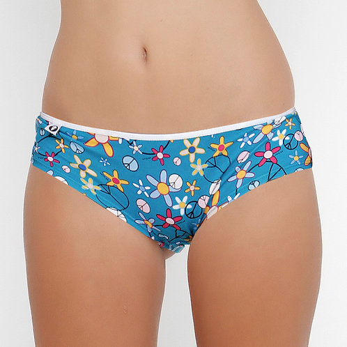 Bamboo Panty Flower Power