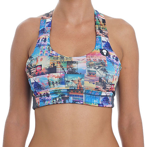 Meena Sports Bra Get Away