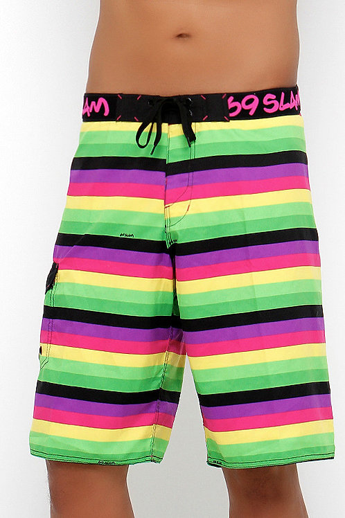 Boardshorts Lines Green