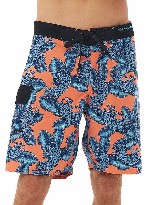 Boardshorts Jungle Blue