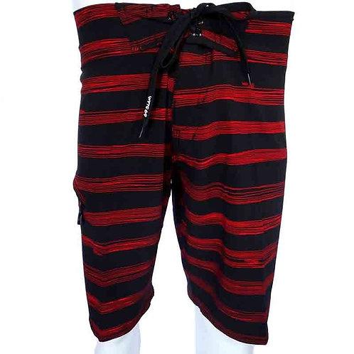 Boardshorts Stripes Red