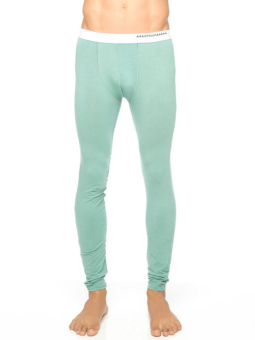 Bamboo Thermo Pant Olive Green