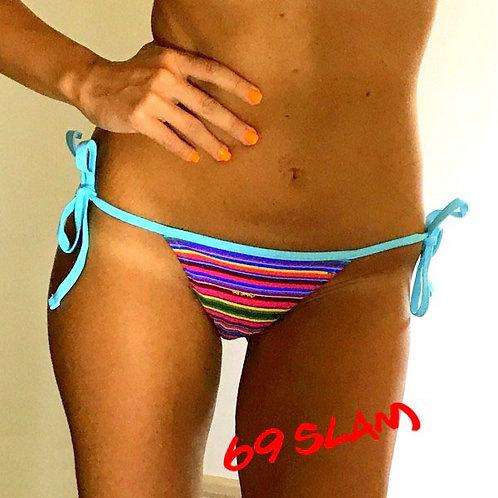 Triangle Bikini Pant Multilines