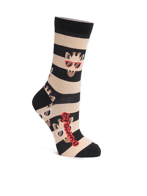 Socks Giraffe Stripes