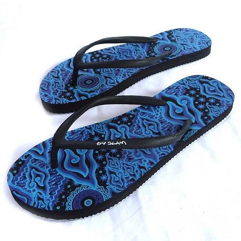 Flip Flops Javanese Batic