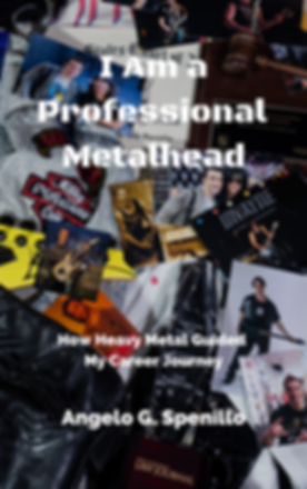 I Am a Professional Metalhead Book Cover