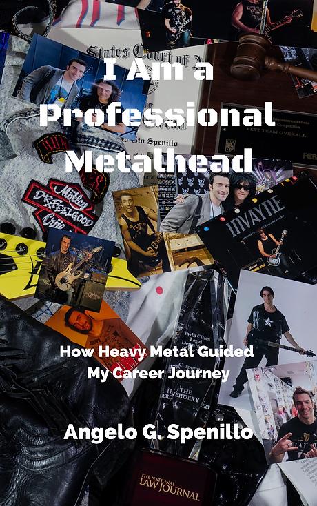 I Am a Professional Metalhead Book Cover