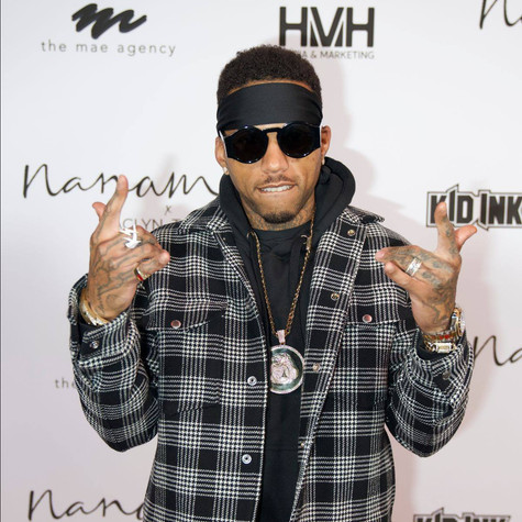 Recording Artist Kid Ink (Photo Credit: Parker Snider Photo)