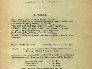 La rassegna critico-antologica della letteratura italiana nella prima serie delle «Pagine Istriane»