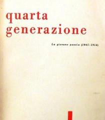 """""""Quarta generazione"""" di Piero Chiara e Luciano Erba"""