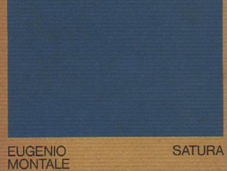 Il canone poetico del Novecento: Satura e la canonizzazione di Montale