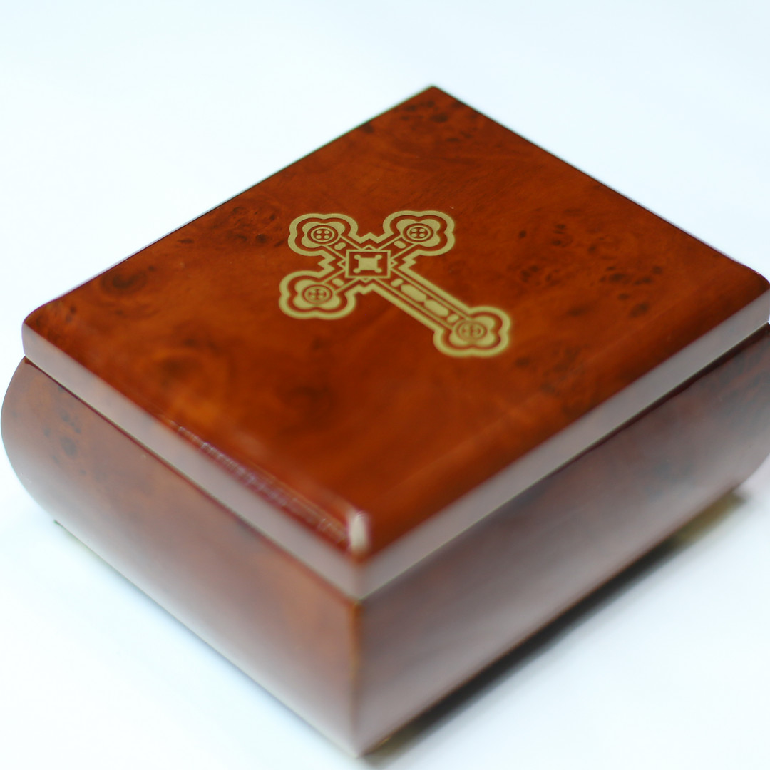 Harmonia Cross Music Box