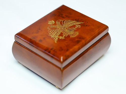 Double Headed Eagle Treasure Box