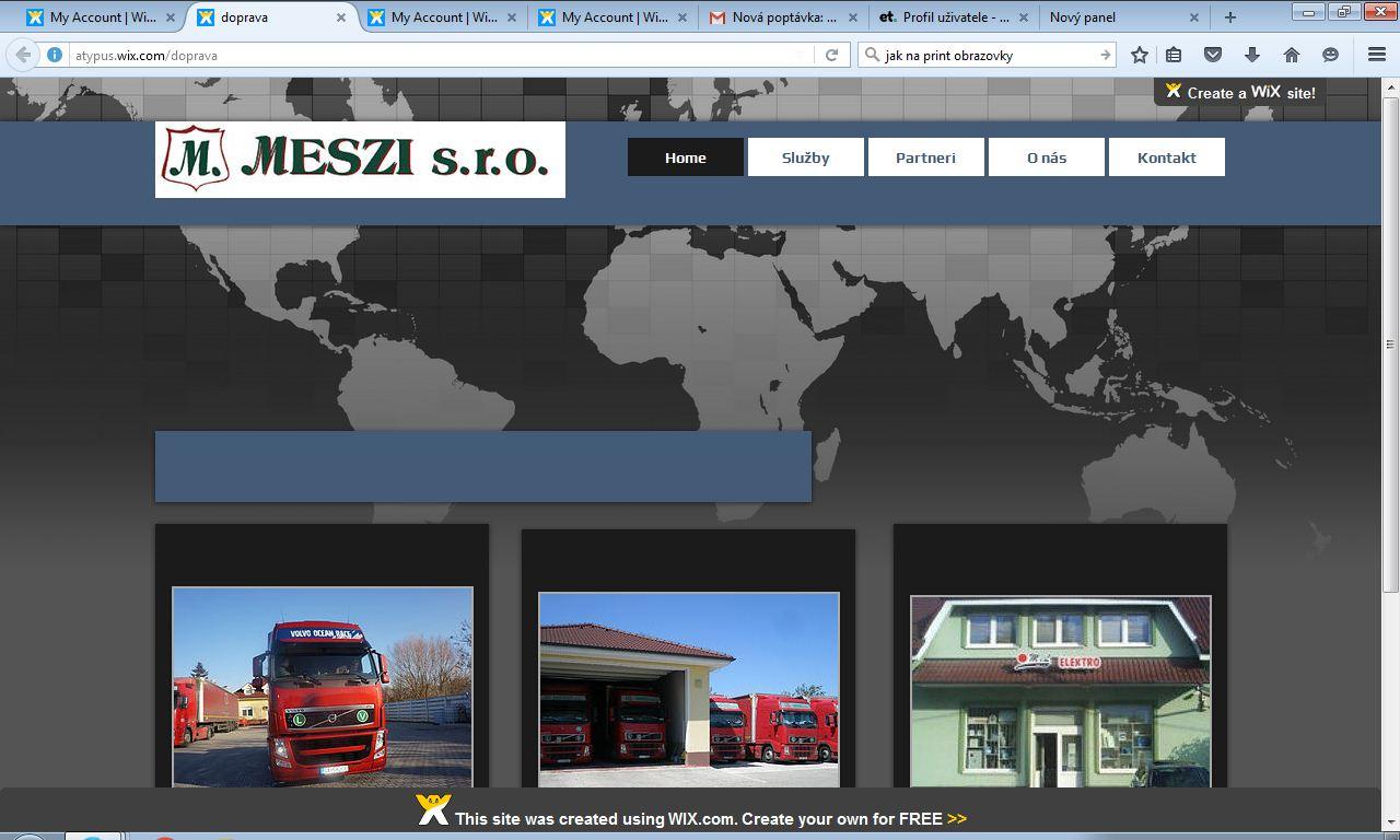 WEB-DOPRAVA