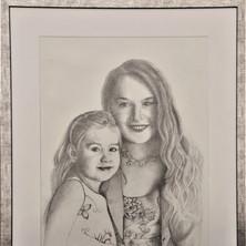 č.5-341, Matka a dítě ,2019, technika kr