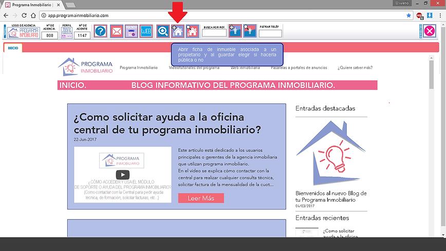 Publicación en portales de anuncios clasificados