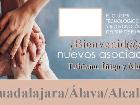 ¡BIENVENID@S Fabiana, María e Íñigo!