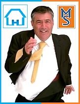 Gerente de una inmobiliaria que entra en la red de Merca Service