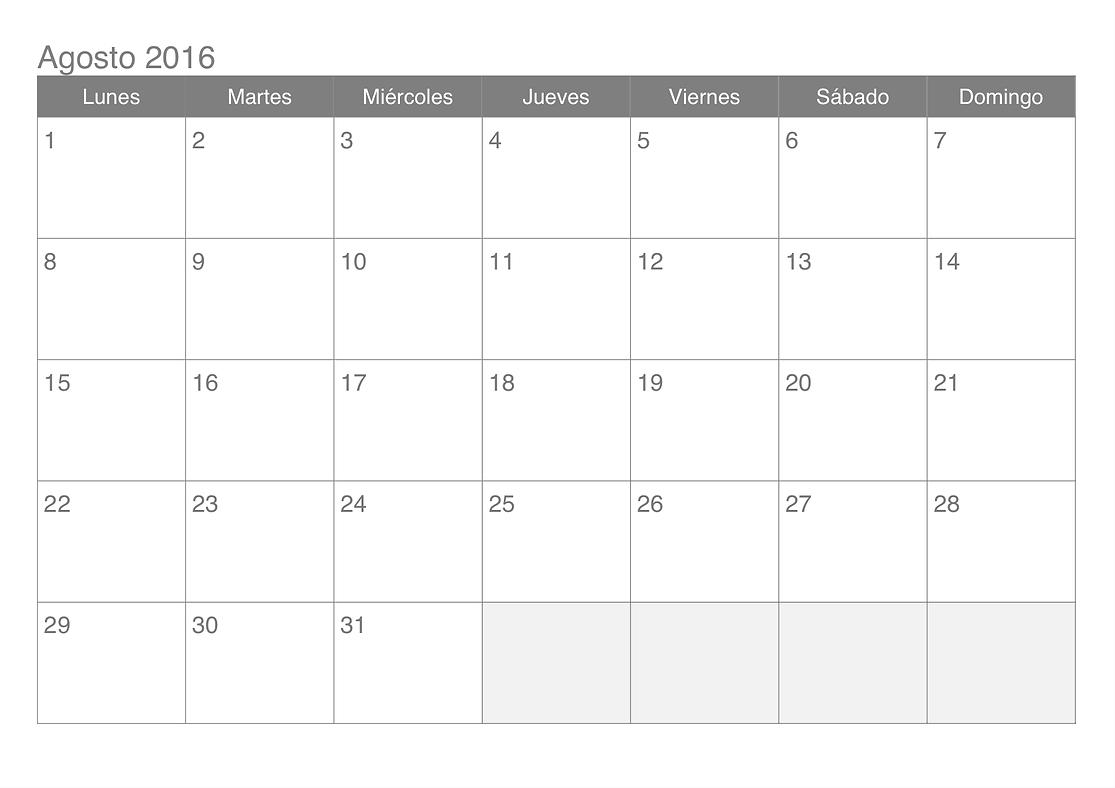 Clases de Junio 2016