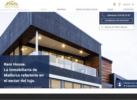 ¡Bienvenido a la nueva versión de la web de Rem House Inmobiliaria de Lujo en Mallorca.
