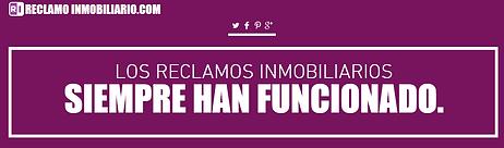 RECLAMO INMOBILIARIO
