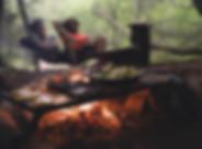 Lagerfeuer Mahlzeit
