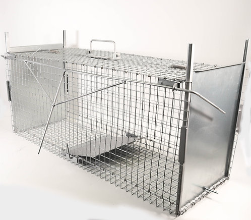 Trap Cage to Capture Live Animals. 100x36x40cm.