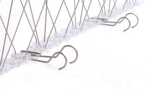 Clip per grondaia in acciaio inox