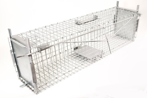 Trap Cage to Capture Live Animals. 92x22x25cm.