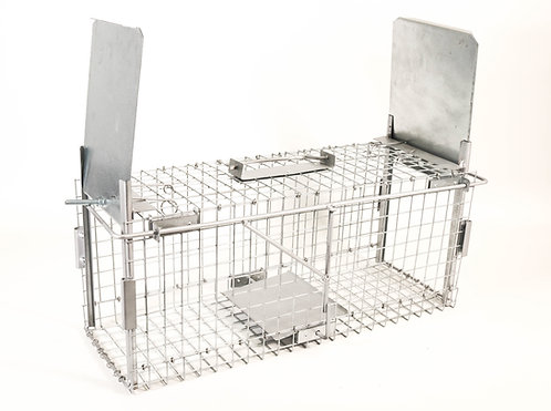 Trap Cage to Capture Live Animals. 62x22x25cm.