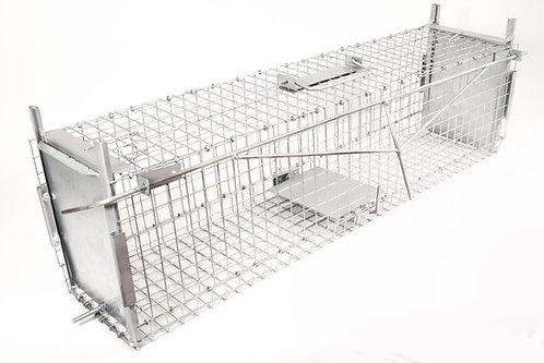Gabbia Trappola per Catturare Animali Vivi. 92x22x25cm.