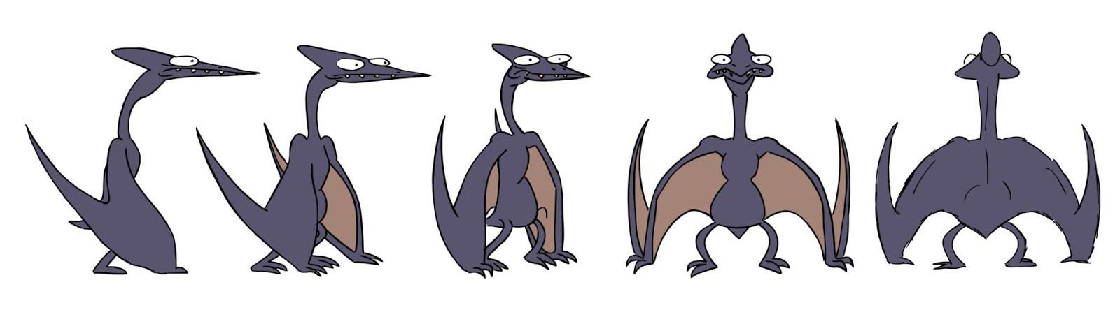 pterosaur turn around