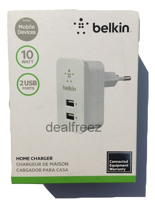 Home charger 2 usb belkin